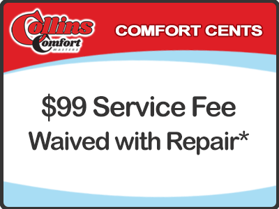 $99 Service Fee Waived with Repair